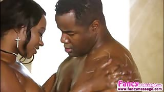 Big tits ebony Skyler Nicole gets hammered hard by Tyler Knight