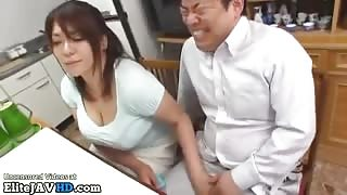 Jav horny gf fucks in front of her parents - More at Elitejavhd.com