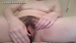 Sweet And Wet Hairy Pussy