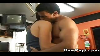 Passionate Latinos Fucking Like Mad at the Gym