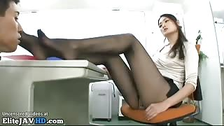 Japanese office lady with sexy long legs - More at Elitejavhd.com