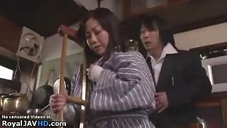 Japanese needy Milf gets fucked hard - More at Elitejavhd.com