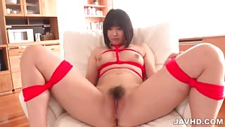 Mari Koizumi naked and tied up