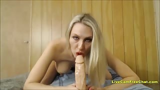 Blonde Cowgirl with Big Tits Real Joy Ride