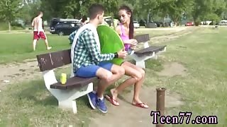Vintage teen full movie Eveline getting ravaged on camping site
